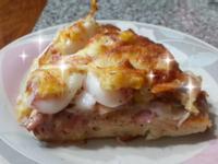 手工海鮮披薩