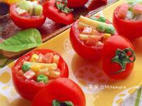 通心粉沙拉蕃茄盅