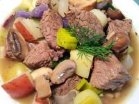 西式馬鈴薯蘑菇燉牛肉