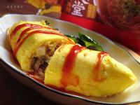 日式蛋包炒麵