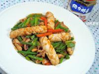 魷魚醬燒韭菜花✿維力炸醬