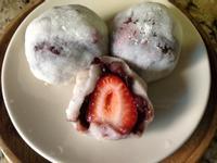 美味的日式點心-草莓大福❤!!!