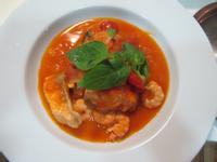 番茄海鮮湯--梅爾雷赫冷壓初榨橄欖油