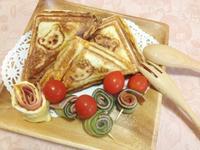 熱壓三明治,美式快餐車