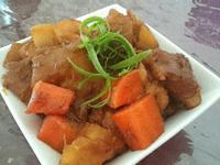 地瓜&馬玲薯燉豬條肉