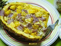 夏威夷焗烤鳳梨奶香麵~小七古早味大變身