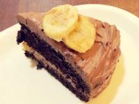 美式香蕉巧克力蛋糕