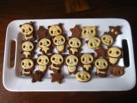 熊貓餅乾(巧克力與香草口味)
