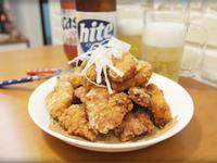 韓式醃料炸雞!!會噴火唷~~