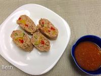 蔬菜絞肉餅 - 十分鐘微波爐料理