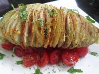 烤手風琴馬鈴薯