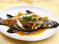 鳳梨醬蒸魚