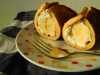 [西洋/甜點]免烤箱!香蕉歐姆蛋捲