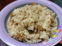 剩菜剩飯二次料理~焗烤肉燥菇菇飯