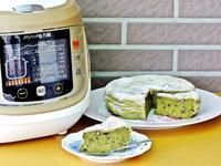 抹茶紅豆天使蛋糕【九陽翻騰智慧全能鍋】
