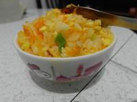 簡單幸福-黃金胡蘿蔔炒飯 (更新完成)