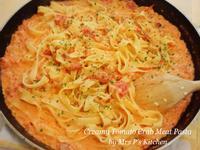 蕃茄鮮奶油蟹肉意大利麵