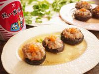 鮮菇鑲肉餅[統一肉燥風味醬]
