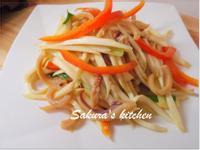 ♥我的手作料理♥ 筊白筍炒魷魚