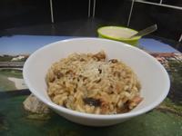 義大利培根蘑菇煨飯