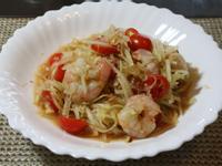泰式涼拌鮮蝦青木瓜絲