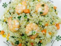 ❤️黃金三色蝦仁蛋炒飯❤️