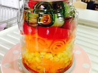 玻璃罐沙拉~メイソンジャーサラダ