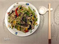 沙茶什錦炒油麵 - 10分鐘料理