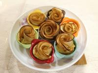 烤玫瑰蘋果捲