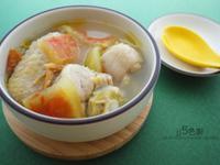 西瓜綿雞湯【夏日湯品】