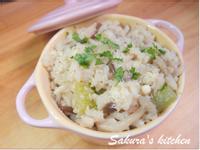 ♥我的手作料理♥ 簡易菇菇燉飯