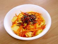 【平底不沾鍋】紅蘿蔔炒蛋佐海鮮干貝醬