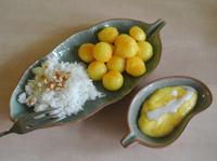 泰式甜點芒果飯(隔夜飯大變身)