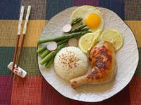 簡易便當菜-鹽麴煎雞腿