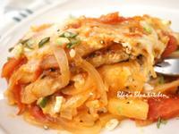 茄汁洋蔥焗豬排飯