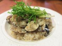 蒜味蛤蠣燉飯