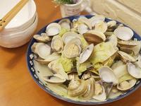 蛤蠣蒸高麗菜-散發高麗菜的甜香氣!!