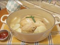 韓式一隻雞湯鍋!!完全提煉出雞的精華呀~