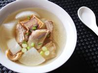 白蘿蔔魷魚乾排骨湯