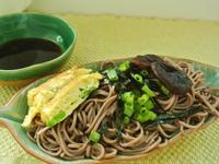 日式蕎麥香菇涼麵