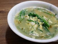 韭菜蛋花湯부추달걀국