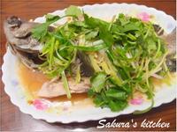♥我的手作料理♥清蒸石斑魚