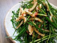 涼拌韭菜부추무침