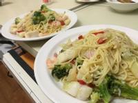 清炒海鮮義大利麵
