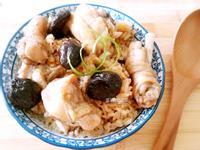 香菇雞炊飯(電鍋版)