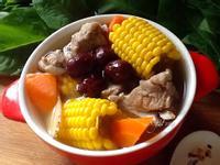 紅棗玉米排骨湯