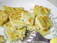 副食品:超簡單寶寶米蛋餅