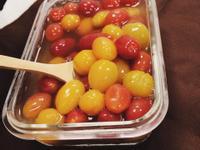 開胃清爽食譜-梅香蜂蜜漬番茄-蜂王蜂蜜