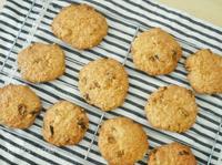 健康小吃- 燕麥葡萄餅乾