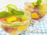 🍹檸檬果凍水果蘇打🍹